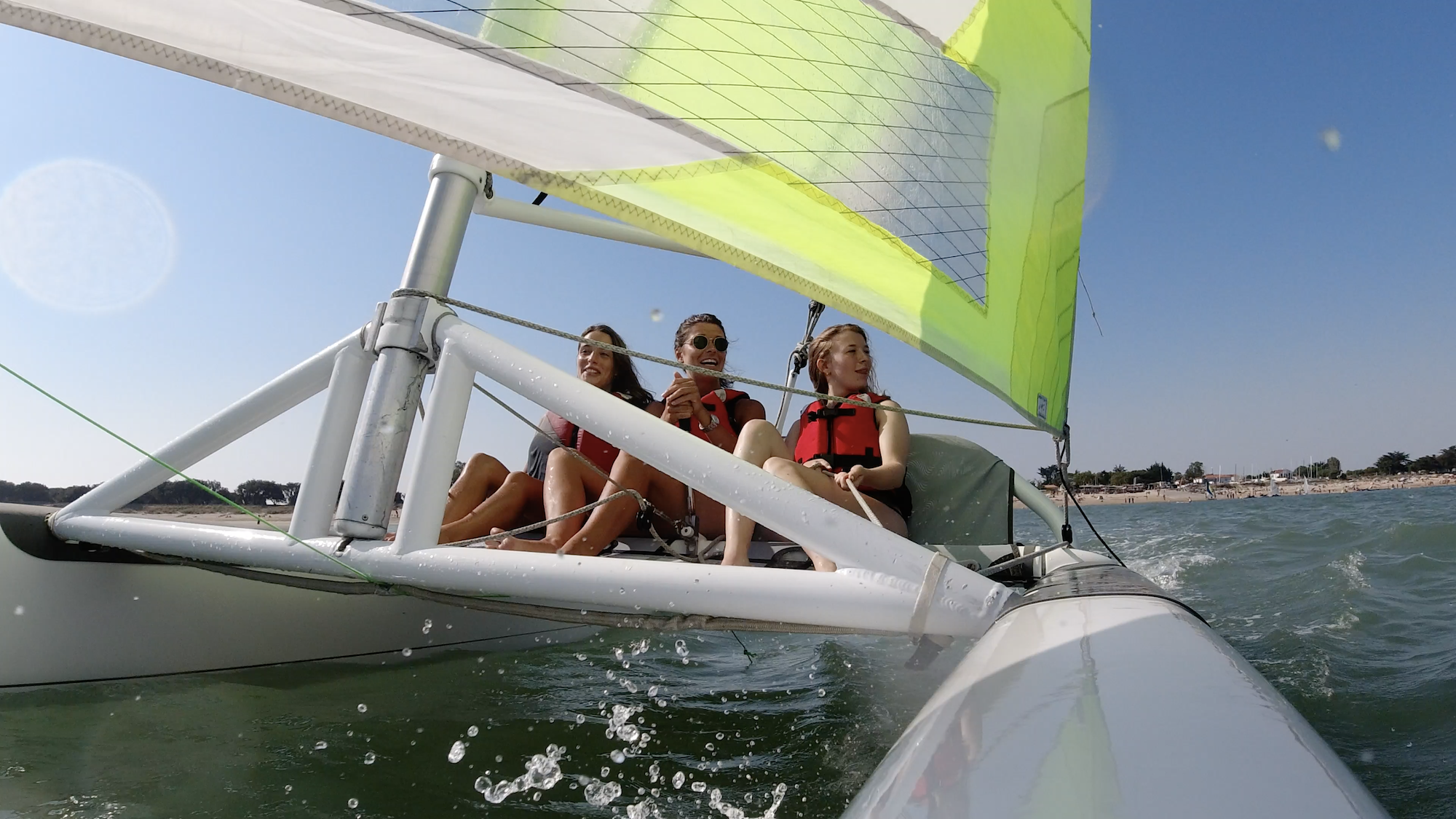 Formation voile Terre Marine