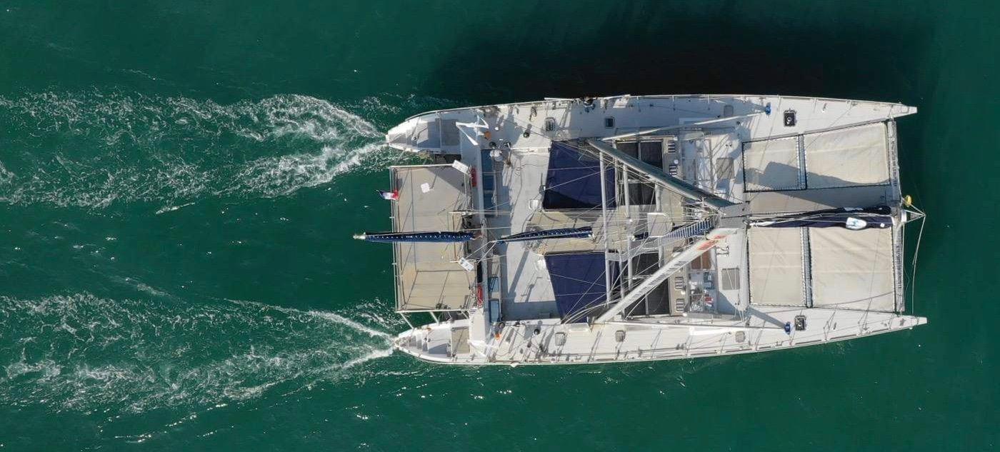 catamaran pédagogique - vie marine - dauphin méditerranée - navigation grand public - navire Sea Explorer missions scientifiques